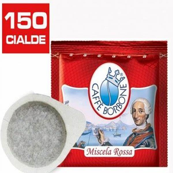 150 CIALDE MISCELA RED FILTRO CARTA ESE 44 MM
